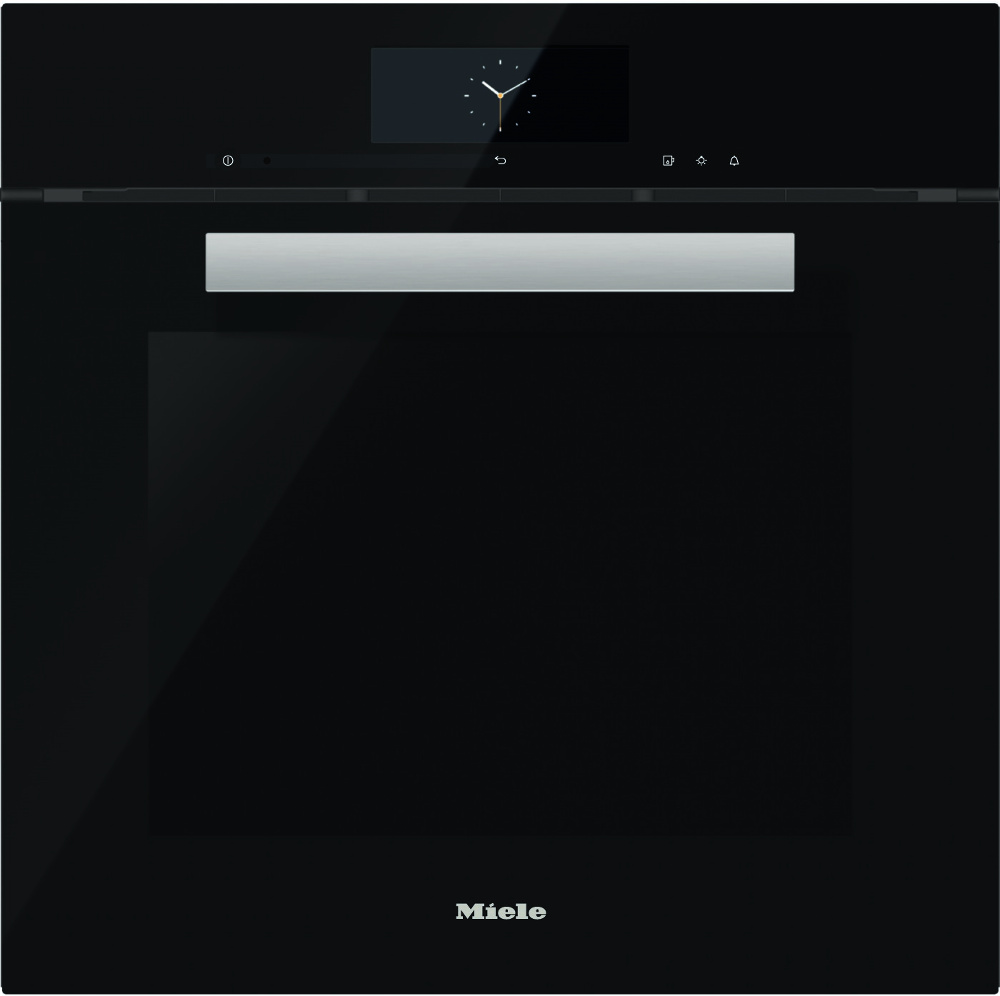 buy miele pureline dgc6865 obsidian black steam oven. Black Bedroom Furniture Sets. Home Design Ideas