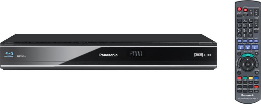 Panasonic DMRPWT420EB Blu-ray Player with HDD Recorder