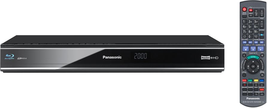 Panasonic DMRPWT520EB Blu-ray Player with HDD Recorder
