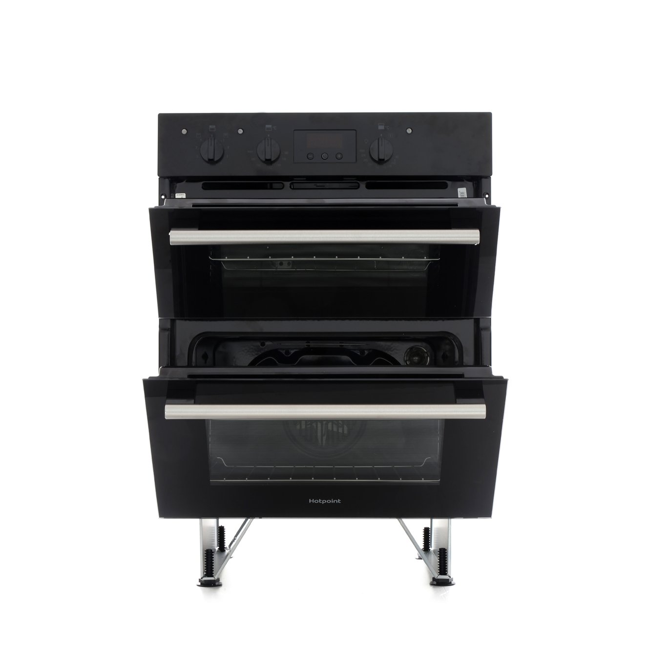 Hotpoint DU2540BL Double Built Under Electric Oven - Inox - Buy ...