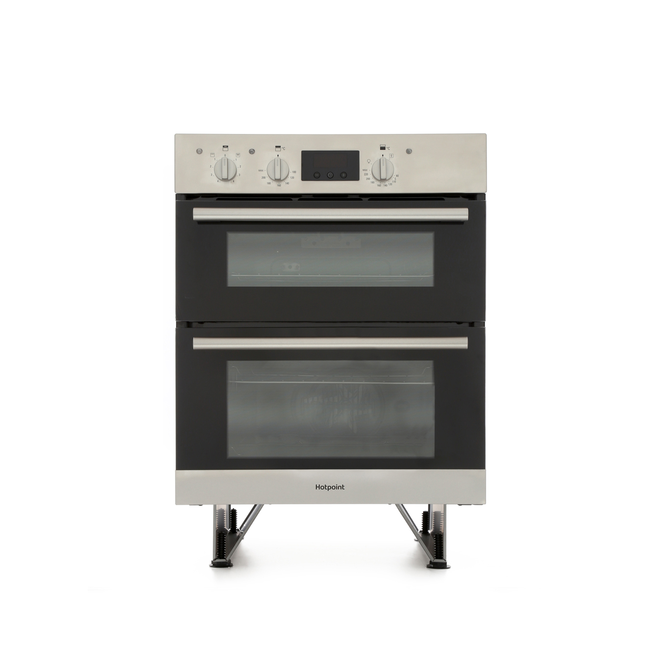 Buy Hotpoint DU2540IX Double Built Under Electric Oven - Stainless ...