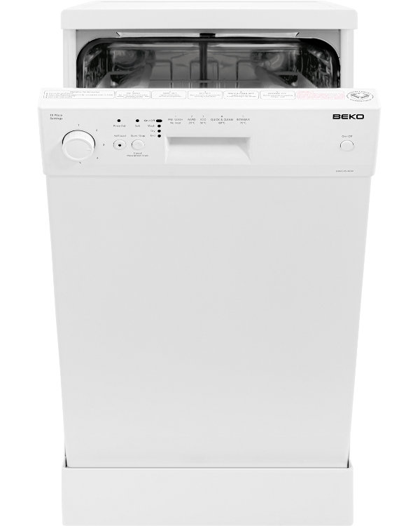Beko dwc4540w slimline dishwasher white buy online for How much does pioneer woman make per episode