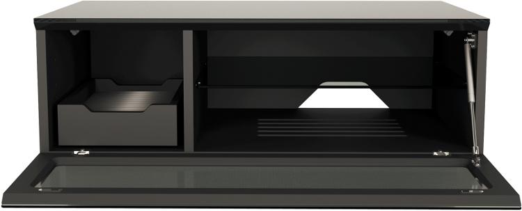 Alphason Element EMT850CB-BLK Universal Cabinet