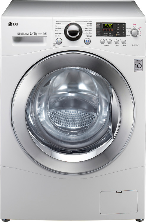 LG 6 Motion F1480RD Washer Dryer