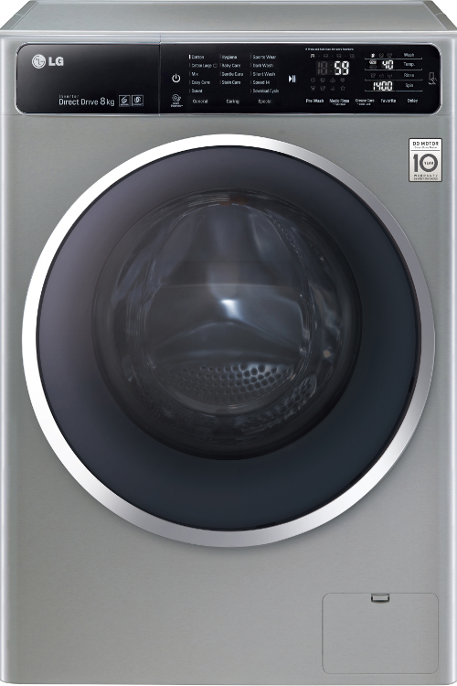 lg f14u1tcn6 washing machine silverl with a chrome door rim buy online today 365 electrical. Black Bedroom Furniture Sets. Home Design Ideas
