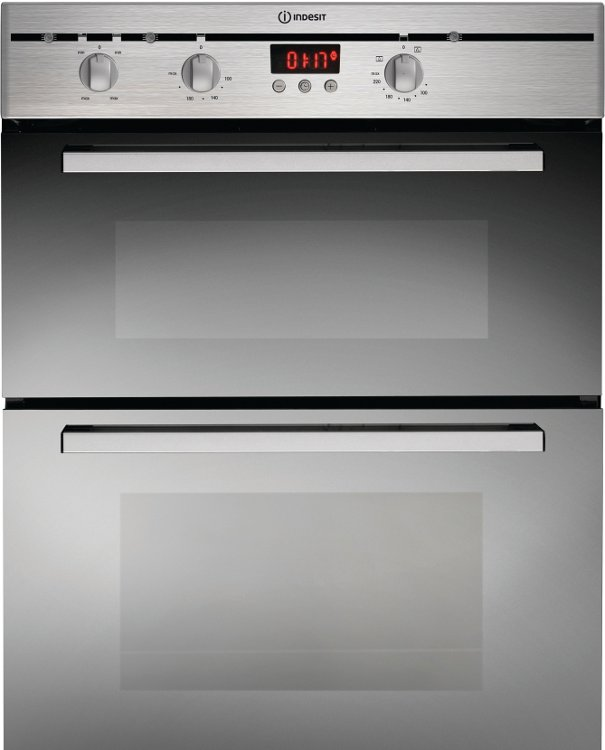 Built In Oven Indesit Built Under Double Oven