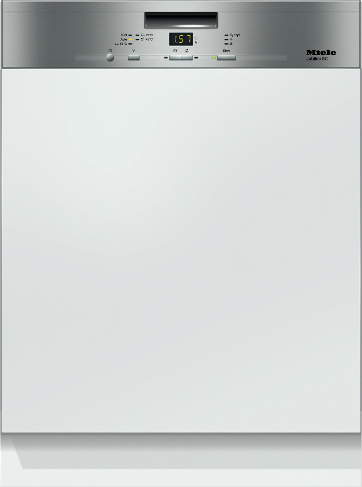 Miele G4940i Jubilee CleanSteel Built In Semi Integrated Dishwasher