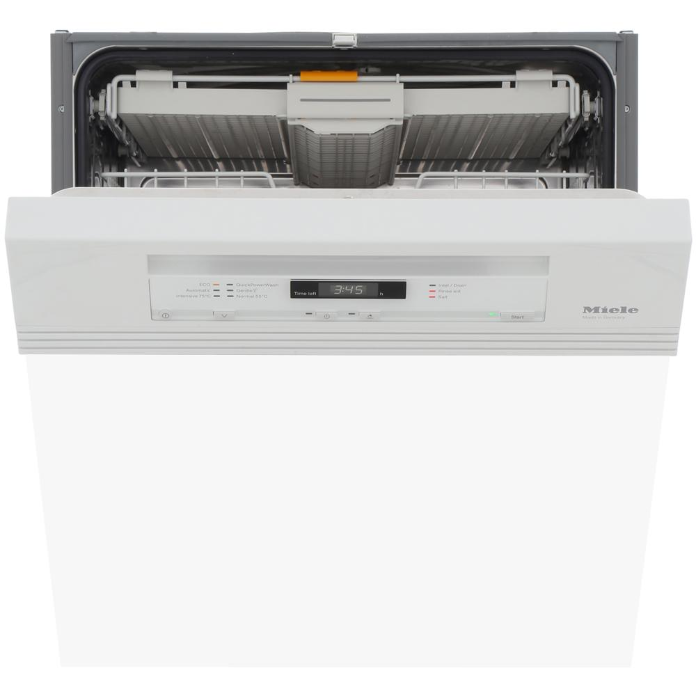 Miele G6620SCi Brilliant White Built In Semi Integrated Dishwasher