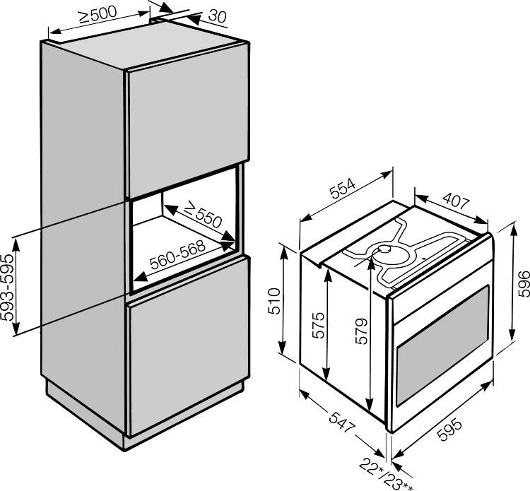 Buy Miele Contourline H2361bp Cleansteel Single Built In