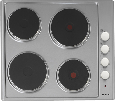 how to clean electric hob burners