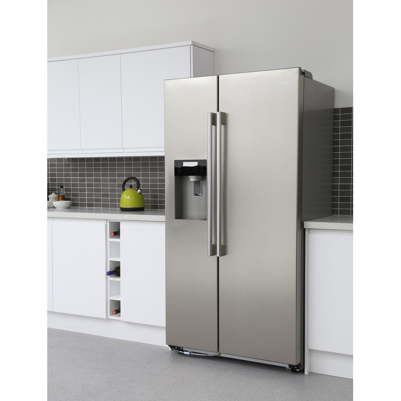 haier hrf 628if6 american fridge freezer stainless steel effect buy online today 365. Black Bedroom Furniture Sets. Home Design Ideas