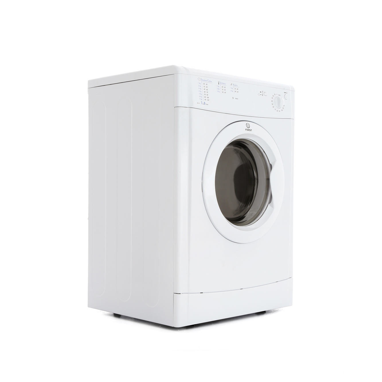 indesit idv75 vented dryer white buy online today 365 electrical. Black Bedroom Furniture Sets. Home Design Ideas