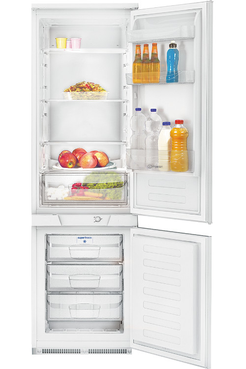 Buy indesit incb31aa integrated fridge freezer white - Integrated freezer ...
