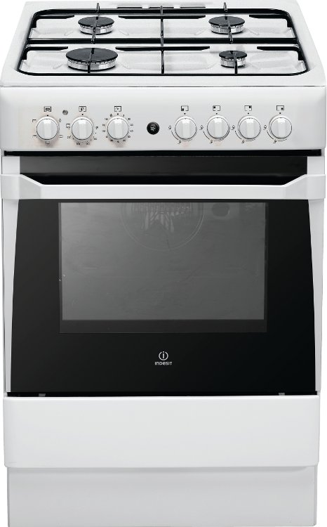 indesit start is60g1w gas cooker with single oven