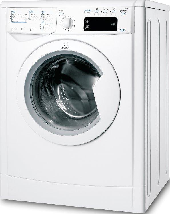 Indesit IWDE7125B Washer Dryer
