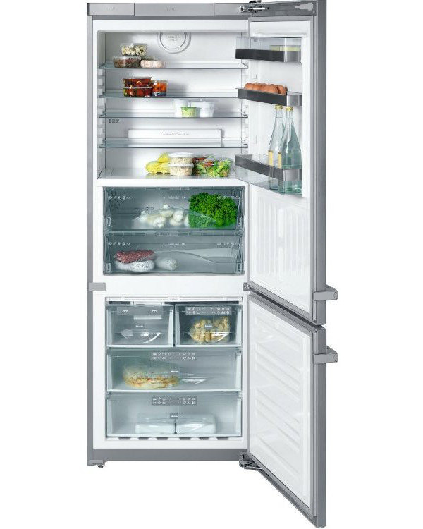 buy miele kfn14947sdeed cs 1 cleansteel fridge freezer. Black Bedroom Furniture Sets. Home Design Ideas