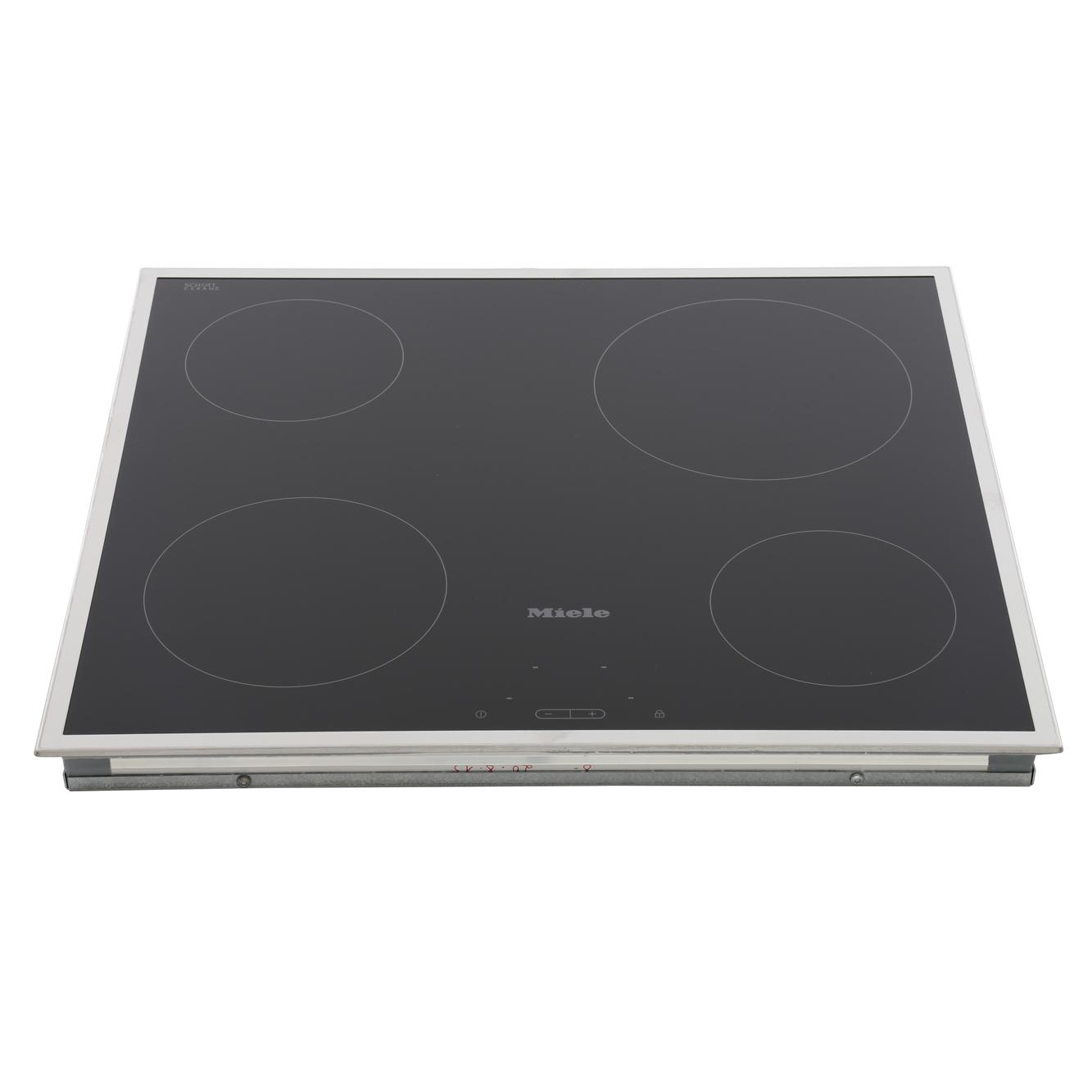 Buy Miele Km5600 Stainless Steel Frame Ceramic Hob