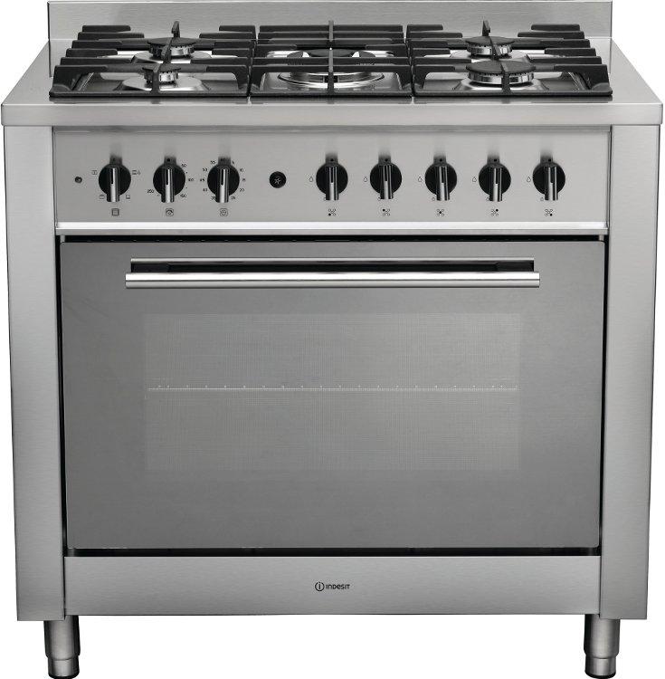 Buy Indesit Advance Kp9f11sx G 90cm Dual Fuel Range Cooker