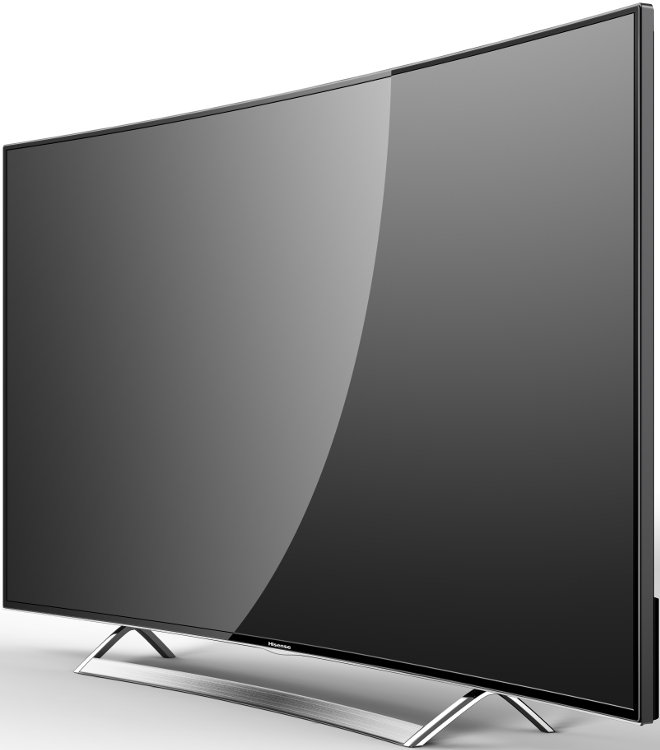 buy hisense k720 ltdn55k720wtseu curved 4k ultra hd led television ltdn55k720wtseu black. Black Bedroom Furniture Sets. Home Design Ideas