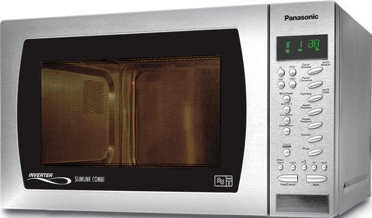 Panasonic NNCT579SBPQ Slimline Combination Microwave