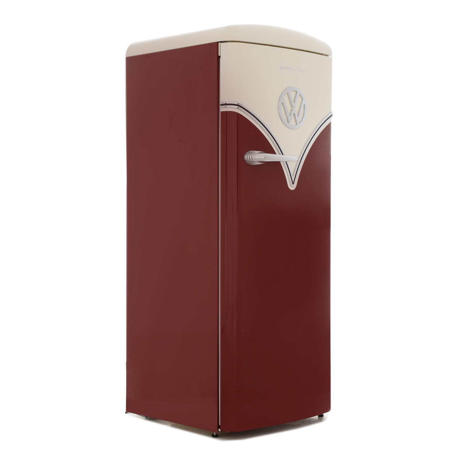 Gorenje OBRB153R Retro Special Edition Tall Fridge with Ice Box