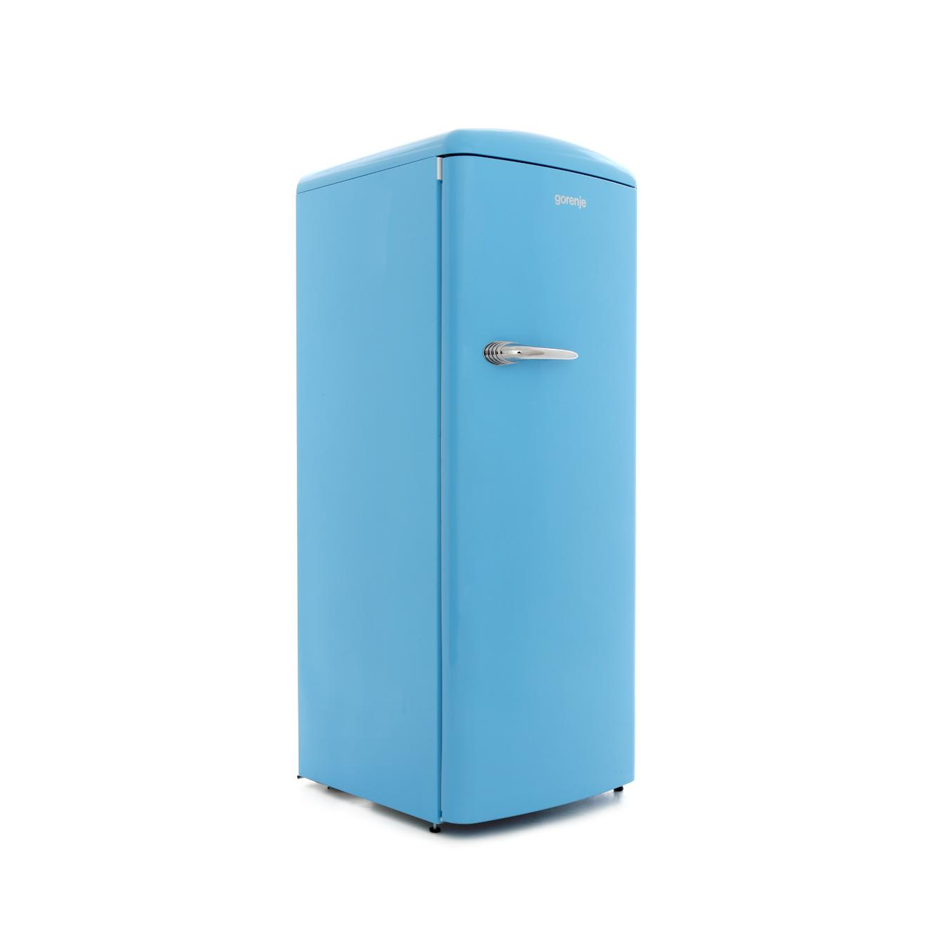 buy gorenje orb153bl retro tall fridge with ice box baby blue marks electrical. Black Bedroom Furniture Sets. Home Design Ideas