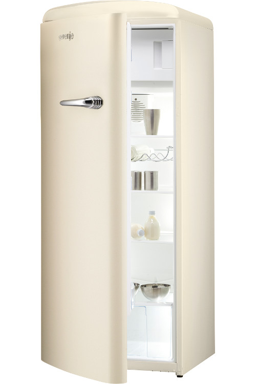 gorenje retro vintage rb60299ocl tall fridge with ice box rb60299oc l cream buy online. Black Bedroom Furniture Sets. Home Design Ideas