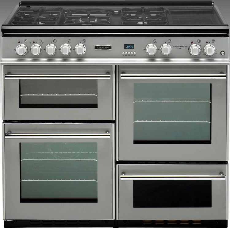 leisure cuisine master professional rcm10frsp 100cm dual fuel range cooker rcm10frsp silver. Black Bedroom Furniture Sets. Home Design Ideas