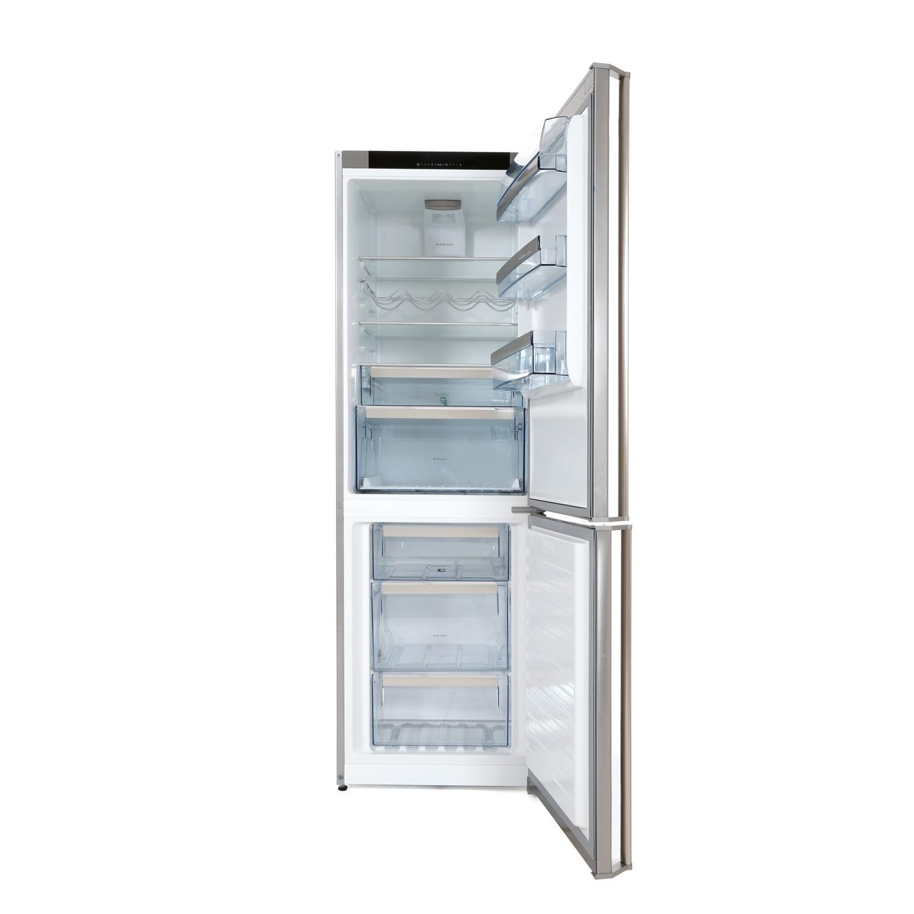 Aeg S83420ctx2 Fridge Freezer Stainless Steel Door With