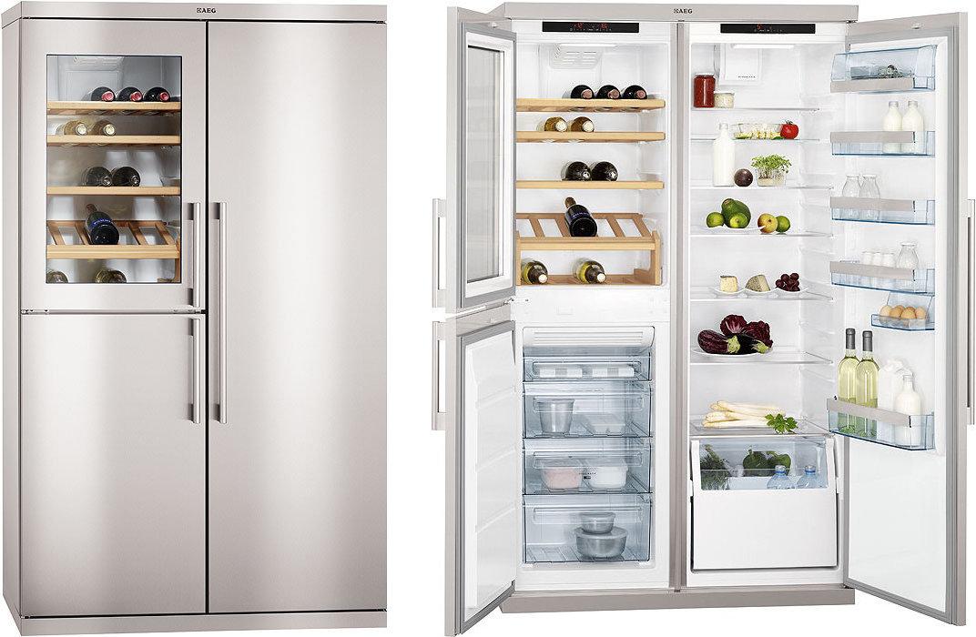 Aeg S95800xtm0 Multi Door American Fridge Freezer
