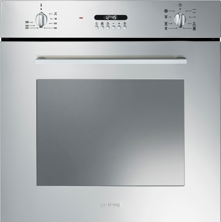 Buy Smeg Cucina Sf478x Single Built In Electric Oven
