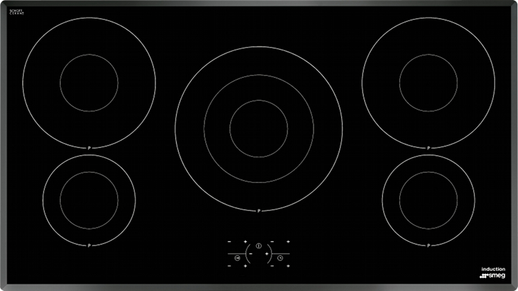 smeg si3950b induction hob black ceramic glass buy online today 365 electrical. Black Bedroom Furniture Sets. Home Design Ideas