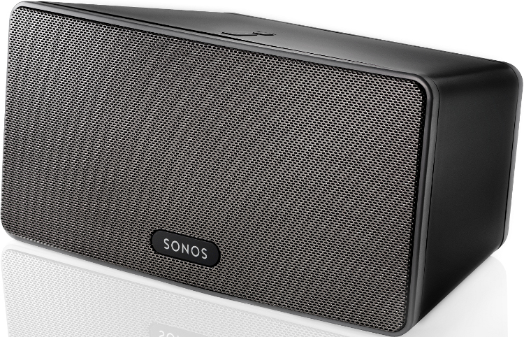Sonos PLAY:3 Black Wireless Speaker