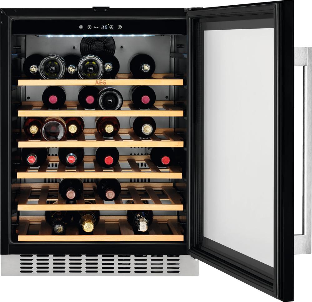 AEG SWE66001DG Integrated Wine Cooler