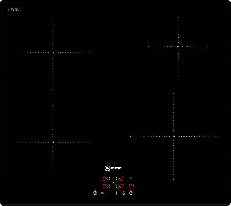 buy neff t41b30x2 induction hob frameless marks electrical. Black Bedroom Furniture Sets. Home Design Ideas