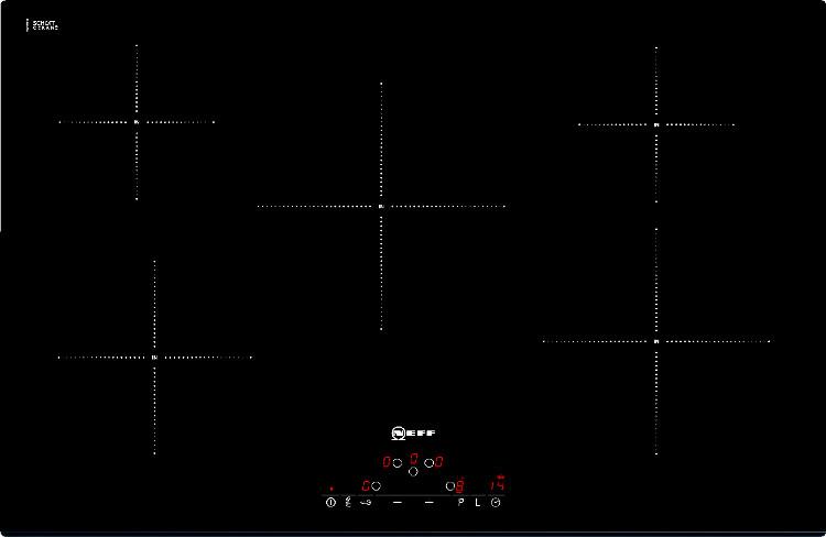 buy neff t41d82x2 induction hob frameless marks electrical. Black Bedroom Furniture Sets. Home Design Ideas