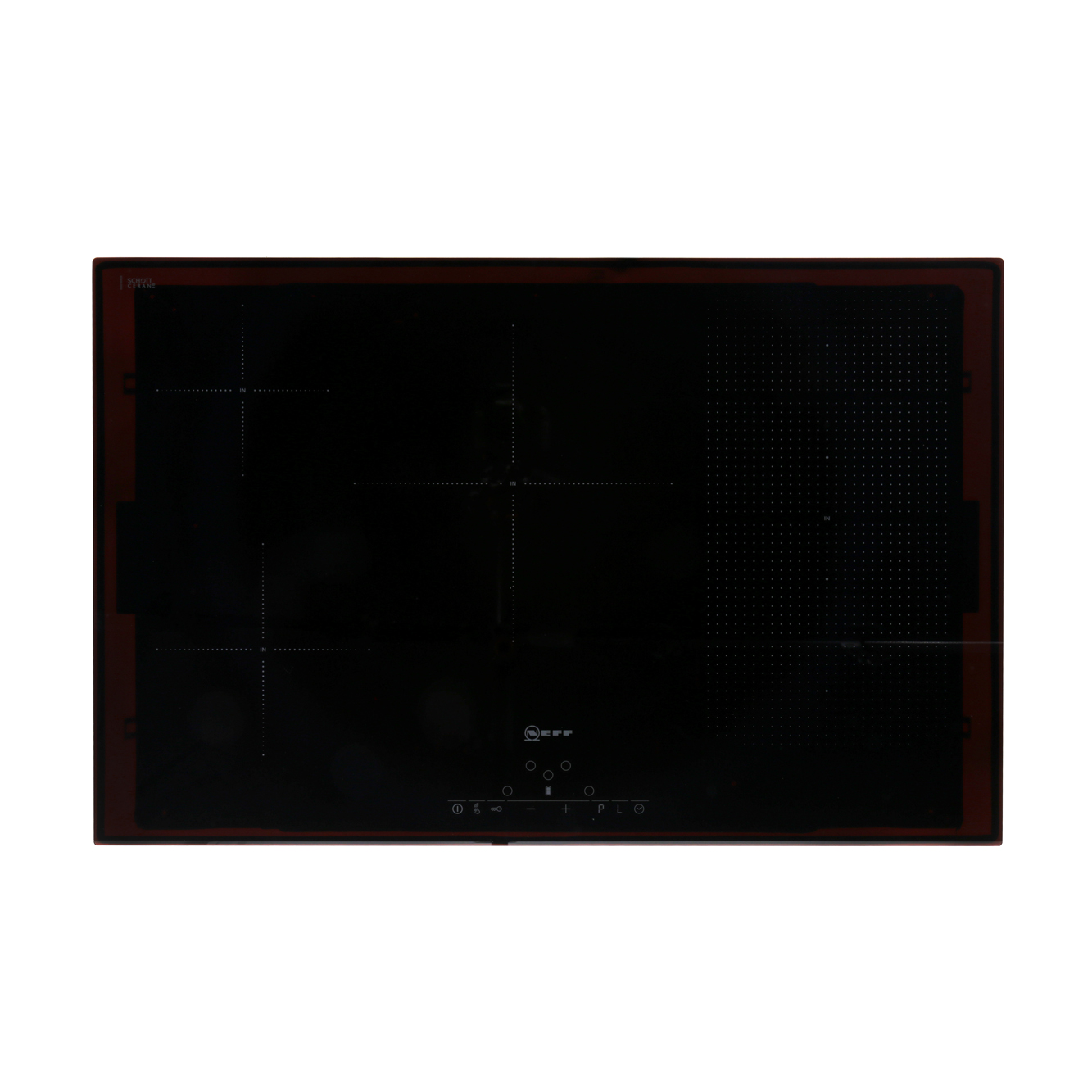 buy neff t51d86x2 induction hob frameless marks electrical. Black Bedroom Furniture Sets. Home Design Ideas