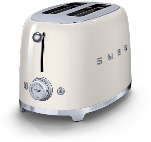 smeg tsf01cruk 50 39 s retro style 2 slice toaster buy online tsf01cruk marks electrical. Black Bedroom Furniture Sets. Home Design Ideas