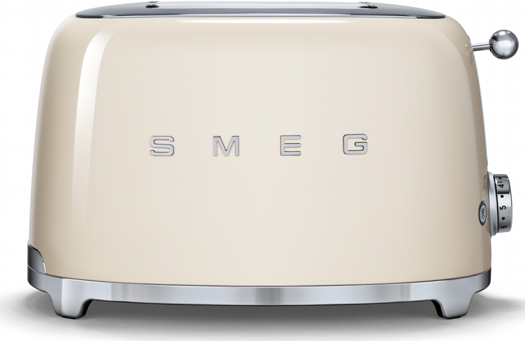 Smeg TSF01CRUK 50's Retro Style 2 Slice Toaster