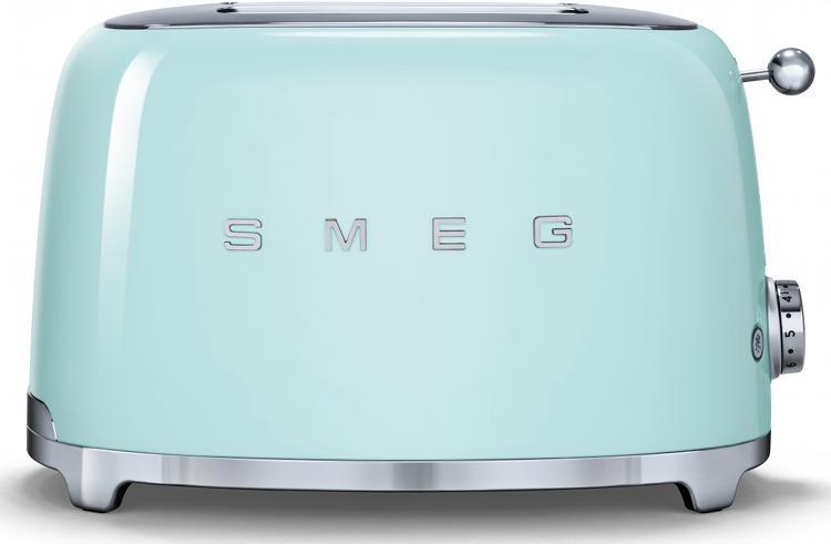 Smeg TSF01PGUK 50's Retro Style 2 Slice Toaster