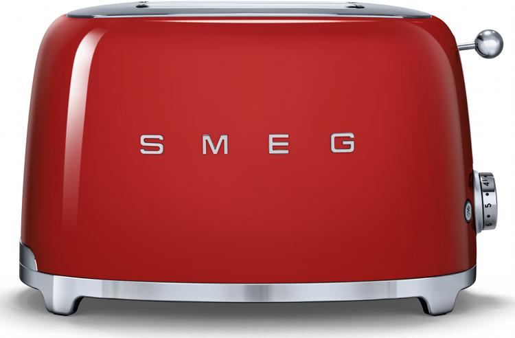 Smeg TSF01RDUK 50's Retro Style 2 Slice Toaster