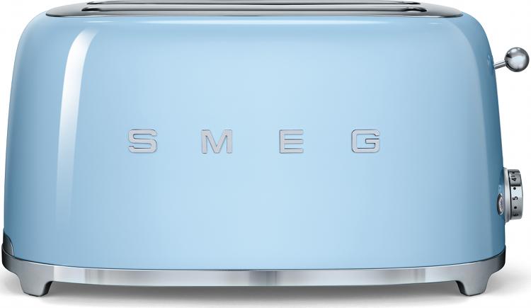 Smeg TSF02PBUK 50's Retro Style 4 Slice Toaster