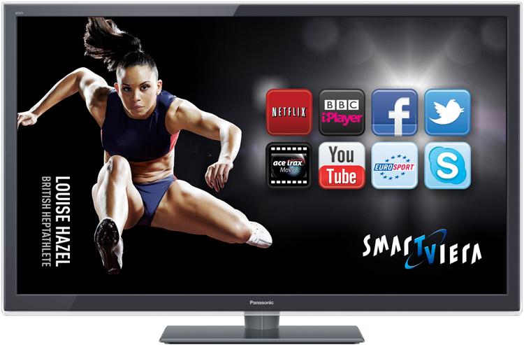 Panasonic ET5 Series TXL47ET5B 3D LED Television