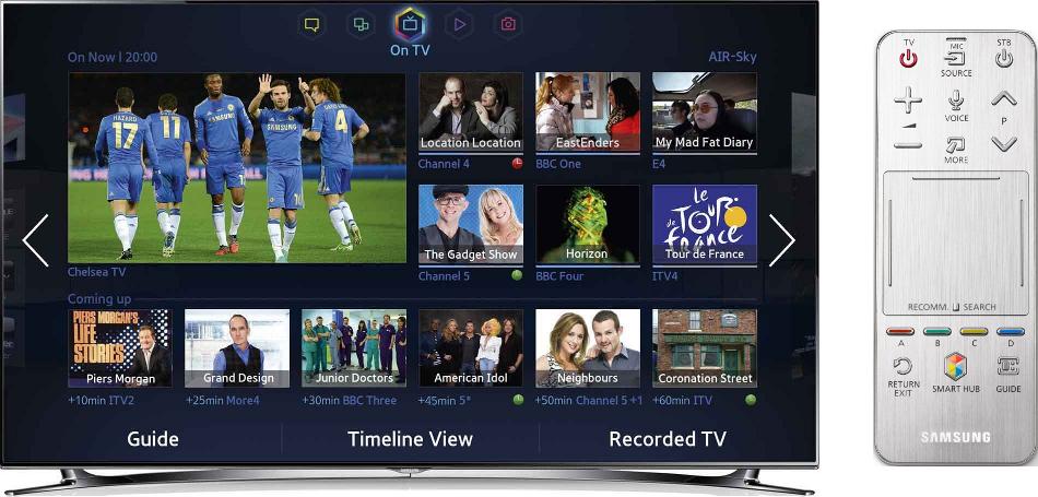 Samsung Series 8 UE55F8000 3D LED Television