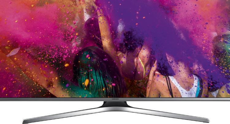 buy samsung 6 series ue55ju6800 55 4k ultra hd led television ue55ju6800 silver marks. Black Bedroom Furniture Sets. Home Design Ideas