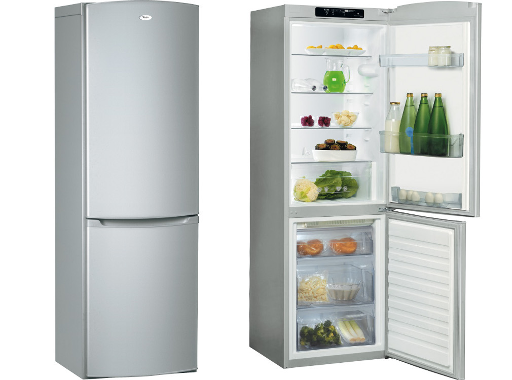 whirlpool wbe3321nfs fridge freezer silver buy online today 365 electrical. Black Bedroom Furniture Sets. Home Design Ideas