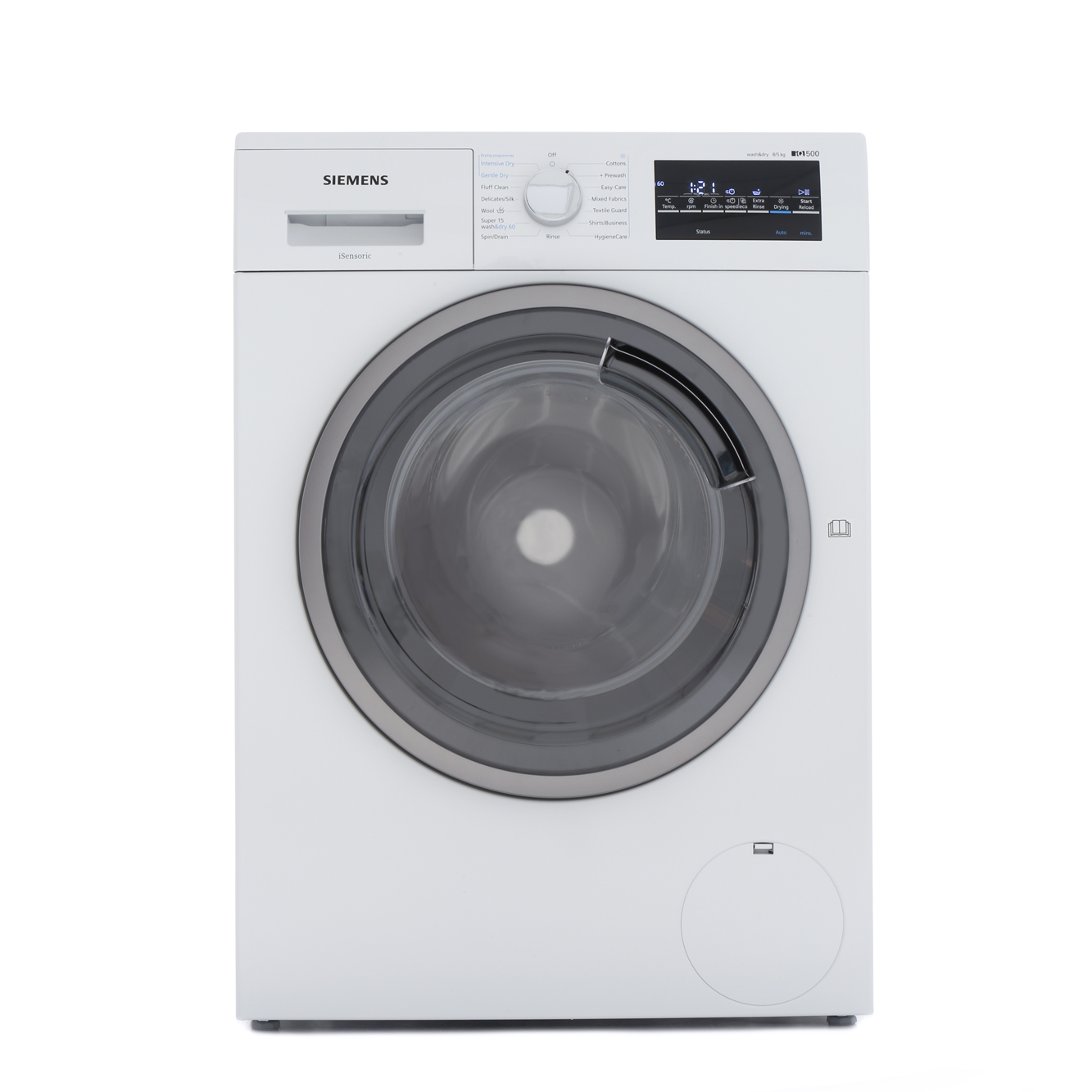 siemens wd15g421gb washer dryer white buy online today 365 electrical. Black Bedroom Furniture Sets. Home Design Ideas