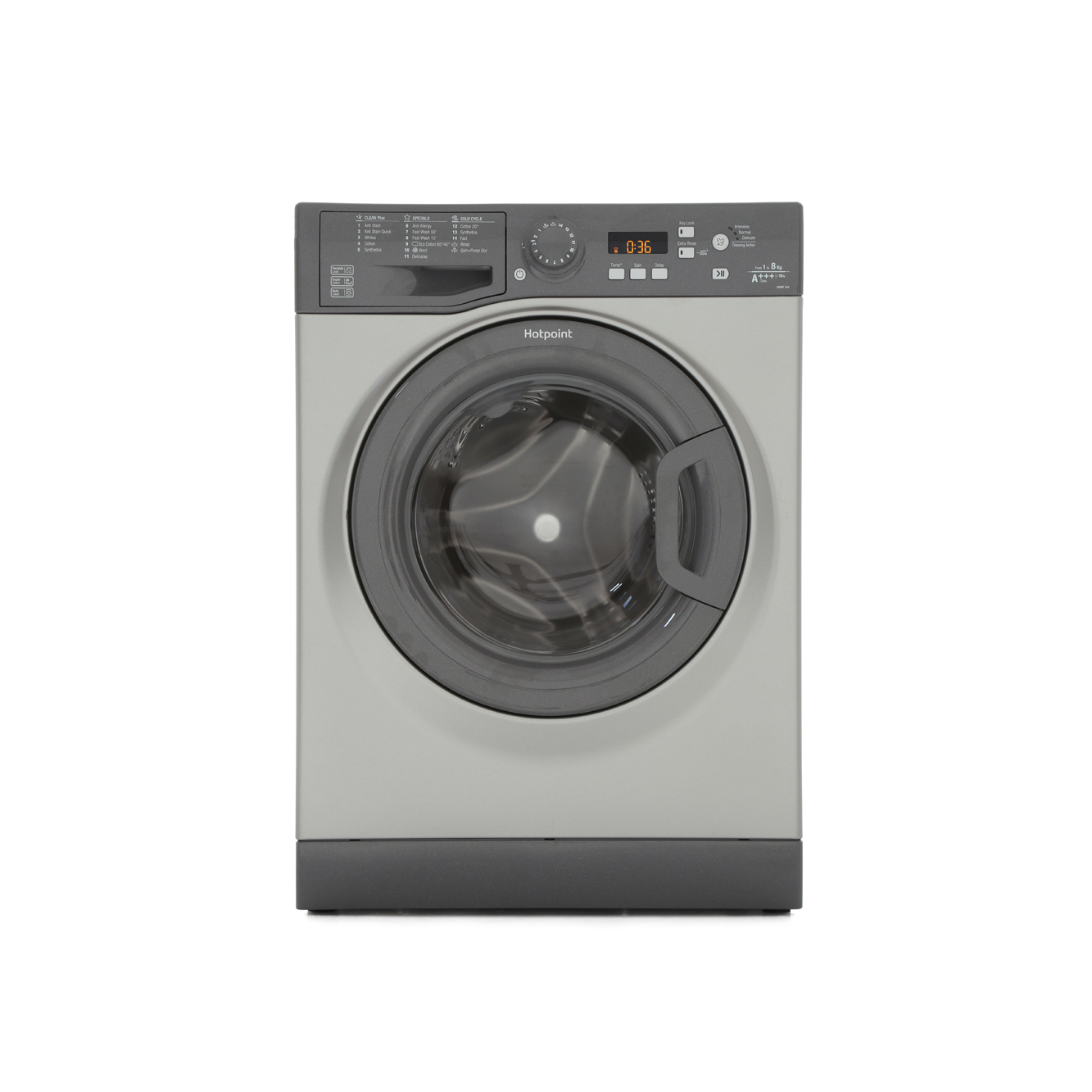Hotpoint Top Loading Washing Machine Hotpoint Wmbf844g Washing Machine Graphite Buy Online Today