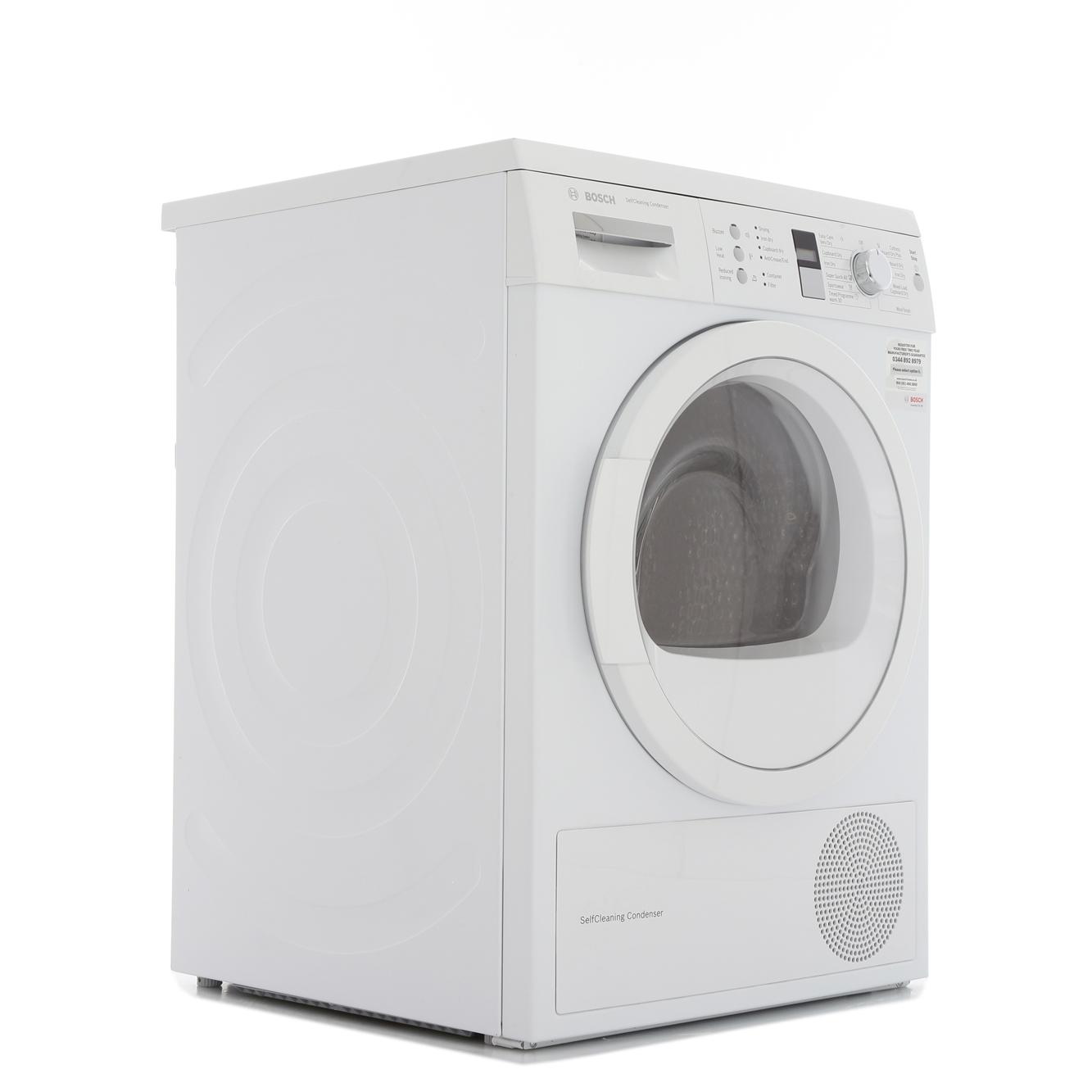 Bosch Serie 6 WTW863S1GB Condenser Dryer