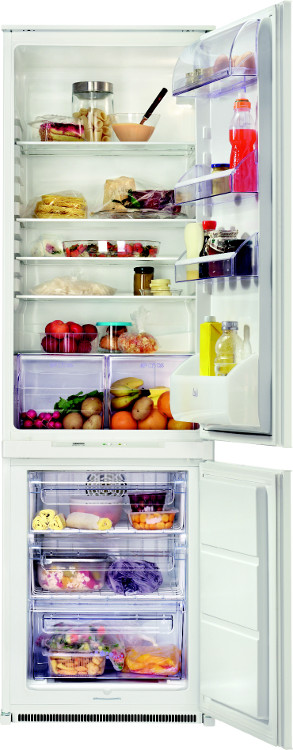 Built in integrated 70 30 frost free a rated fridge freezer ebay